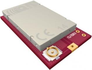 Smart transceiver, 3.1 - 5.3 V, (12.5 mW), 6 I/O, coaxial con.