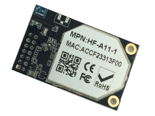 Wi-Fi модул 802.11b/g/n; серия High Performance; USB/UART/GPIO/Ethernet; вградена антена