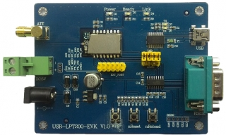 Evaluation Kit for HF-LPT200 Embedded Wi-Fi Module
