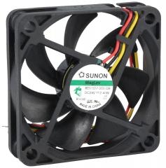 24VDC, 60x60x15mm, 2.40W, 42.83m3/h, 5400RPM; сигнал за обороти