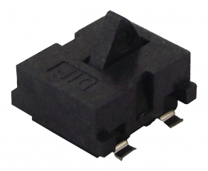 Detector Switch - Card, SPST NO, Top Actuated, 5.0VDC, 1.0mA, 4.7x3.8x2.3mm, SMD