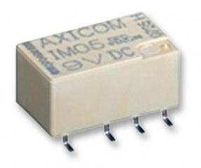 SMD Signal Relay, Sensitive, 5VDC, 234 Ohm, 100mW, DPDT, 2.0A 220VDC/250VAC