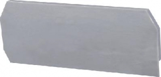 End plate, WS2.5, grey