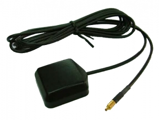 Waterproof Magnet GPS Active 10D Antenna, RG174 3m, Straight SMA, 1575.42±1.023MHz, 50?, 1.0 dBic, LNA Gain 30-37dB