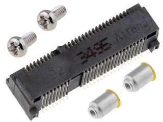Mini PCI Express Socket; Top Mount; SMD; Stand off 9.2mm