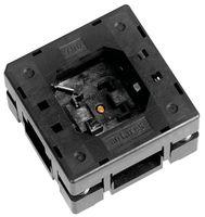 QFN Test Socket, 0.5mm, 28-Positions, Open-Top