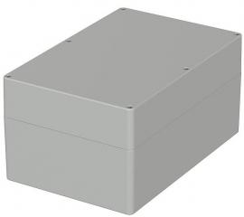 Box Euromas;240.3x160.3x120mm;IP65; Light Grey
