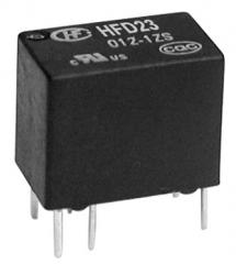 0.5A/125VAC; 1A/30VDC; 12V/960Ohm; SPDT AgNi+Au; Signal, Subminiature, Sensitive