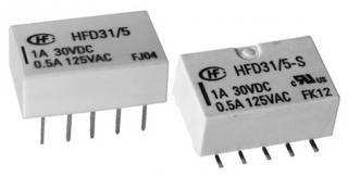 0.5A/125VAC; 1A/30VDC; 12V/1028Ohm; DPDT AgNi+Au; Signal, Subminiature, Low Profile