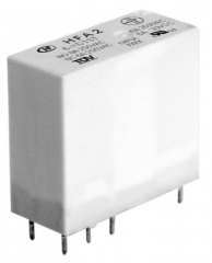 Safety Relay/Forcibly guided contacts; 6A/250VAC,30VDC; 24V/823Ohm; DPDT AgSnO2; Sealed
