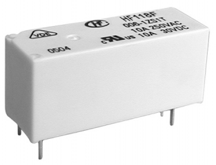 10A/250VAC,30VDC at 85'C; 12V/620Ohm; SPDT AgSnO2; High Power, Miniature; Sealed
