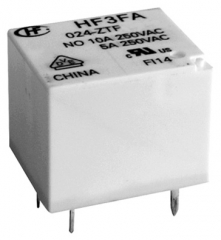 10(5)A/250VAC,28VDC; 12V/400Ohm; SPDT AgSnO2; High Power, Subminiature; Sealed