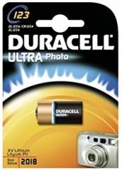 Lithium Battery, 3.0V/1470mAh, CR17345 (CR123A)