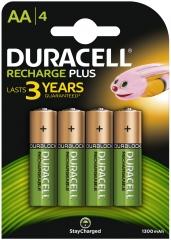 Pack of 4 NiMH Batteries 1.2V/1300mAh AA