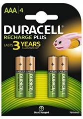Pack of 4 NiMH Batteries 1.2V/750mAh AAA