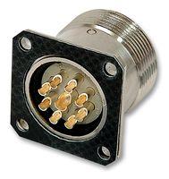 Circular Connector, Circon R2.5 Series, Panel Mount Plug, 9 Contacts, Solder Pin, Copper Alloy Body