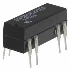 Reed Relay, SPDT, Coil Voltage:12 VDC, Through Hole, Coil Resistance:500 ohm, Switching Voltage/Current Max:100V/250 mA, Fsw:50Hz      OBSOLETE