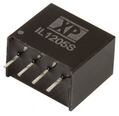 DC/DC Isolated 1kV; 2.0W; Uin:10.8V·13.2V; Uout:5VDC; Iout:400mA; Eff. 78%;  -40°C to 85°C