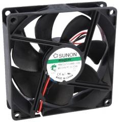 24VDC, 92x92x25mm, 3.72W, 110.44m3/h, 3900RPM