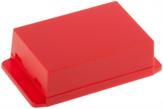 Plastic Enclosure 105X70.6X35.5mm  Red ABS