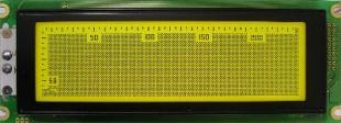 Graphic,240x64 pix,180x65x16mm,FSTN pos.,5.0V, White LED B/L