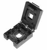 PLCC52 Test & Burn-in Zero Insertion Force(ZIF) Socket || OBSOLETE