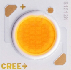 15.85x15.85, Warm White 2700K, CRI90, 1335lm@700mA/85C, 18V, 115deg