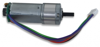 DC Motor/Gearbox (1:19 Gear Ratio): Custom 12V Motor Designed for Digilent Robot Kits