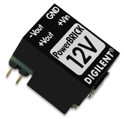 Breadboardable Dual Output USB Power Supply 1.1W; Input: 5V from a standard USB; Output: ±12V/100mA