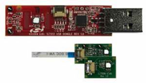 Si7006, Si7007 - Humidity, Temperature Sensor Evaluation Board