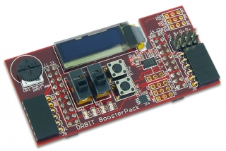 Orbit Booster Pack: Input/Output Add-on Board Designed for the Tiva LaunchPad