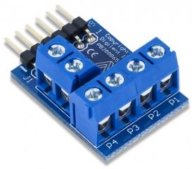PmodCON1: Wire terminal connectors