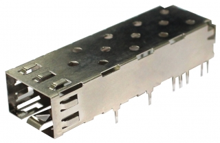 SFP Cage 1x1 Through Hole Type