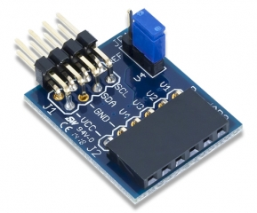 PmodAD2: 4-channel 12-bit A/D Converter