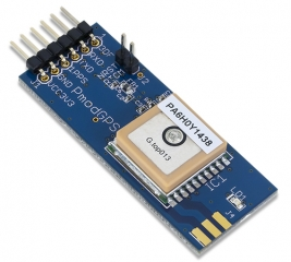Ultra-sensitive GPS module (-165 dBm); Up to 10Hz update rate; 50x20mm