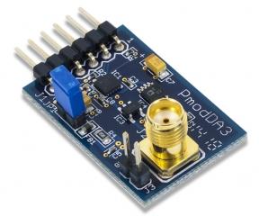 PmodDA3: One 16-bit D/A Output