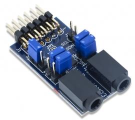 PmodAMP3: Stereo Power Amplifier