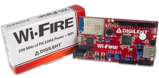WiFi Enabled PIC32MZ Microcontroller Board; Revision C