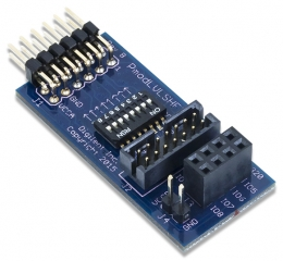 Logic Level Shifter; 2?7 JTAG header; Voltage range: 1.8V - 5.5V