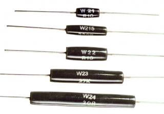 resistor wire wound 3W 5% 200ppm 150R 12.7x5.6mm