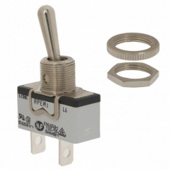 DPST ON-OFF M12 15A/125V metal