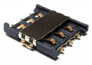 Държач за Nano SIM карта; H=1.5mm