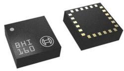 IMU; 3-AX accelerometer + 3-AX gyroscope + Programmable Microcontroller