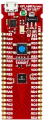 MPLABXpress PIC16F18877 Evaluation Board