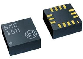 eCompass with 3-AX Geomagnetic Sensor and 12-bit 3-AX Accelerometer