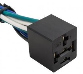 Цокъл за реле; с кабели; за автомобилни релета