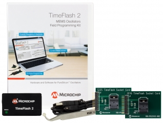 TimeFlash 2 Oscillator Programming Kit with 2 socket cards