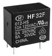5A/250VAC,30VDC; 12V/320Ohm; SPST AgNi; Power, Subminiature, Sealed