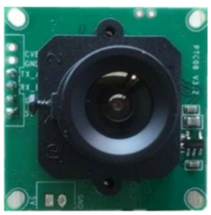 Small in size video camera, 38x38/32x32mm, VGA,QVGA,QQVGA resolution, 5V operation, up to 115200 bps UART/RS485 interface