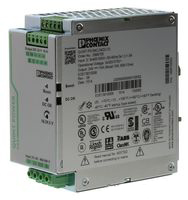 AC/DC DIN Rail Power Supply, Input Voltage:3-phase 320-575VAC, Output Voltage:24VDC, Output Current:10A